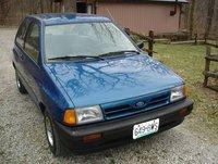 1989 Ford Festiva, exterior