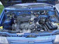 Picture of 1989 Ford Festiva, engine