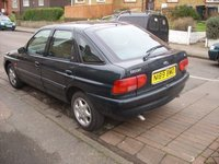1996 Ford Escort 4 Dr LX Hatchback, 02, exterior, gallery_worthy