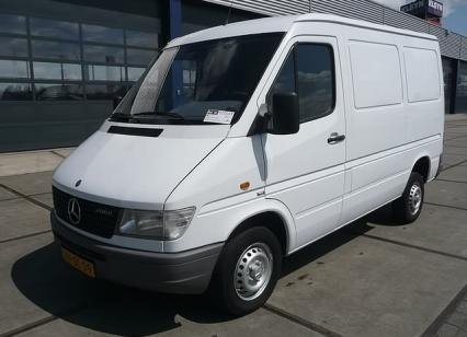 1998 Mercedes-Benz Sprinter, 07, exterior, gallery_worthy