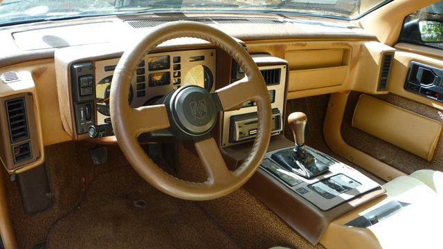 1984 Pontiac Fiero SE or Indy, Dash/interior, gallery_worthy