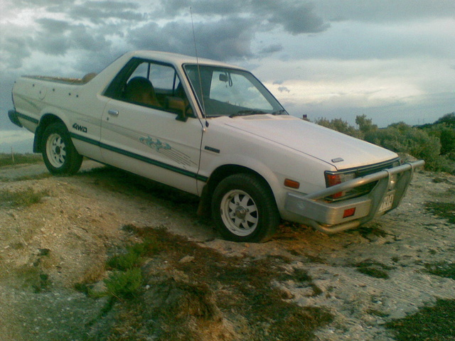 Picture of 1989 Subaru Brumby, exterior
