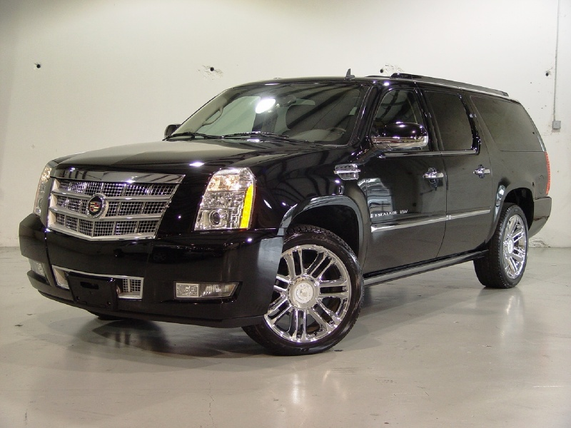 cadillac escalade esv platinum. Black Bedroom Furniture Sets. Home Design Ideas