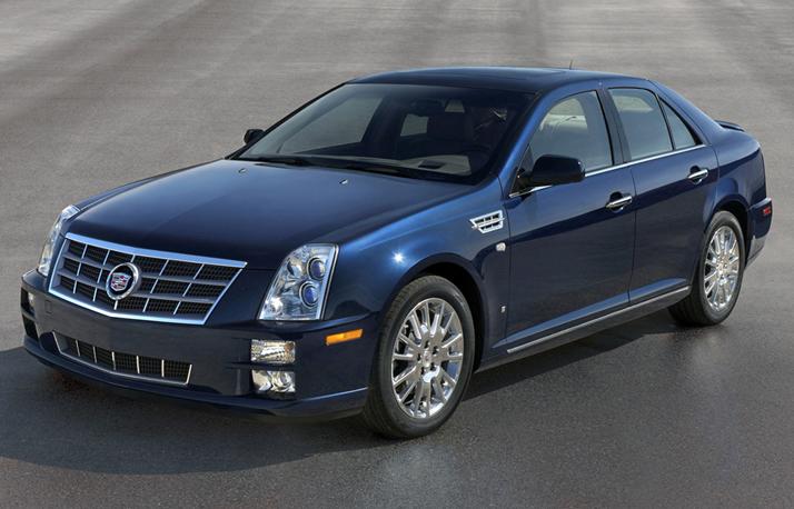 2007 Cadillac Sts V. 2009 Cadillac STS-V Base
