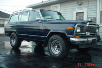 1985 Jeep Wagoneer, THIS IS WITH 33' TIRES AND 2 IN LIFT, exterior