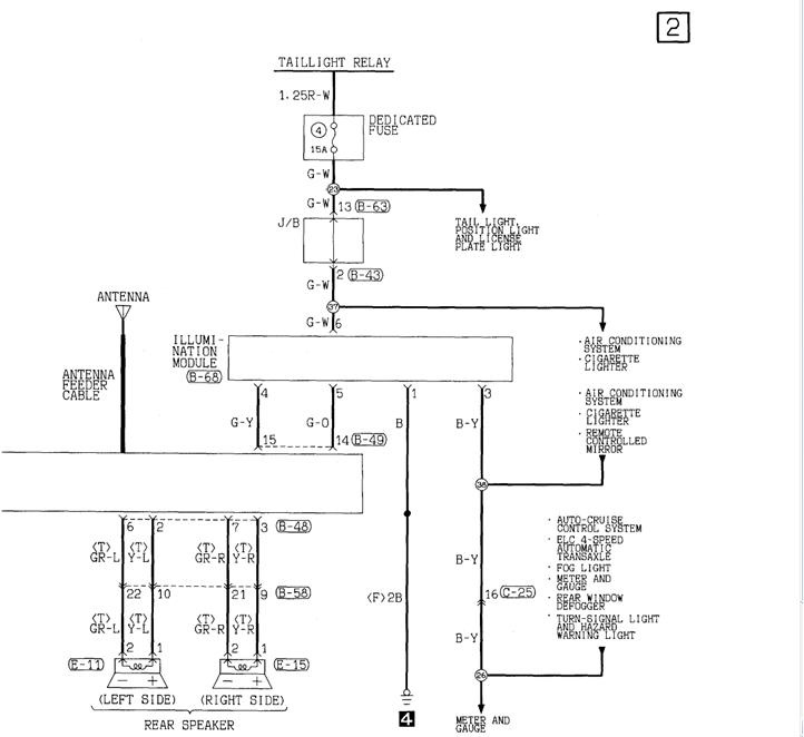 2007 chrysler sebring radio wiring diagram   42 wiring