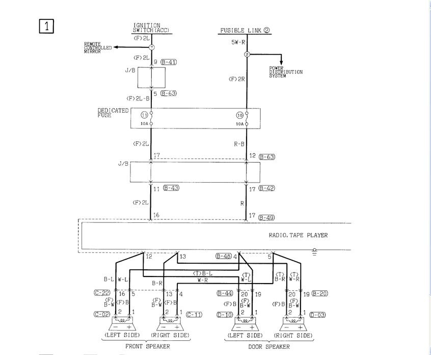 1999 chrysler sebring speaker wire diagrams wiring diagram for rh prestonfarmmotors co 2004 Chrysler Sebring Engine Problems 2004 chrysler sebring headlight wiring diagram