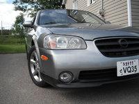 """2003 Nissan Maxima SE, Nouvelle Lip Avant Stillen + """"Plaque du japon"""" custom ebay, exterior, gallery_worthy"""