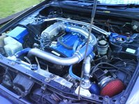 Picture of 1996 Nissan Skyline, engine