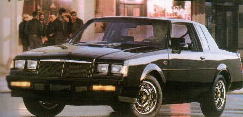 Buick Grand National Gnx For Sale. 1987 Buick Grand National
