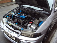 Picture of 1997 Mitsubishi Lancer Evolution, engine, gallery_worthy