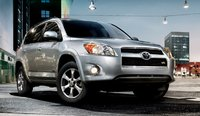 2011 Toyota RAV4, front three quarter view , exterior, manufacturer