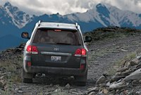 2011 Toyota Land Cruiser, back view , manufacturer, exterior