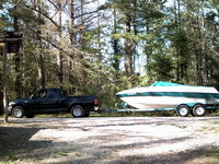 2001 Ford F-150 XLT Extended Cab LB, OUR F150 AND FOUR WINNS BOAT, exterior