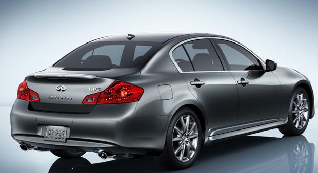 2011 INFINITI G25, back three quarter view , exterior, manufacturer