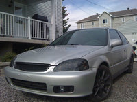 1999 Honda Civic Coupe Si, Mon ptit beubé de metal ^^, exterior