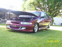 1993 Holden Commodore, VP Commodore V6, exterior