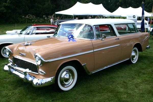 Picture of 1955 Chevrolet Nomad, exterior, gallery_worthy
