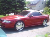1993 Ford Mustang GT Convertible RWD, 95 muStang gt (mine/dads), exterior, gallery_worthy