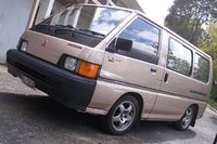 1990 Mitsubishi Delica, a week after buying the rims, they're finally on the van.  :L, exterior, gallery_worthy
