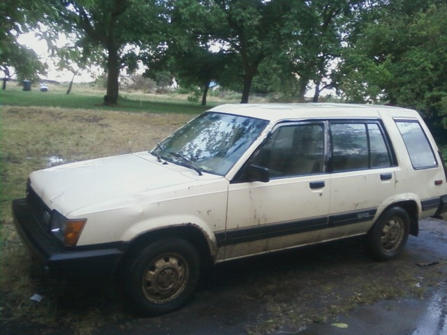 84 Toyota Tercel 4WD... the funnest car ever