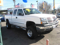 2004 Chevrolet Silverado 1500 LS Ext Cab Short Bed 4WD picture, exterior