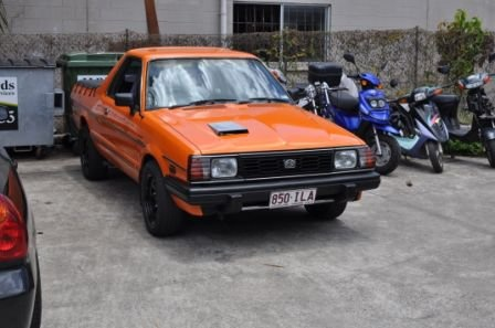 1986 Subaru Brumby, Lurking at the back of the shop waiting for action, exterior, gallery_worthy