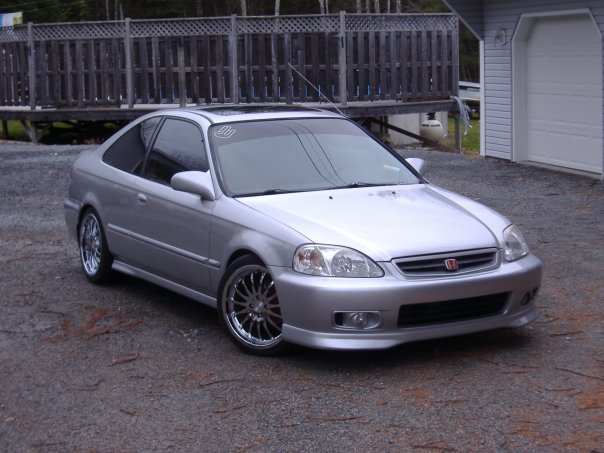 frechcipated honda civic si coupe 1999. Black Bedroom Furniture Sets. Home Design Ideas
