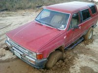 1986 Toyota 4Runner, Thanks for pulling me out Kenny., exterior