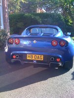 "2003 Lotus Elise, Off to Knockhill now for some serious ""lappery"" in the evening sun Elder daughter Holly is PAX, exterior"