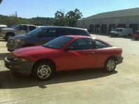 1995 Chevrolet Cavalier Base Coupe, here is a decent photo of the car after i cleaned it., exterior