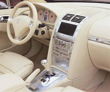 Who Owns Volvo >> 2007 Peugeot 407 - Interior Pictures - CarGurus