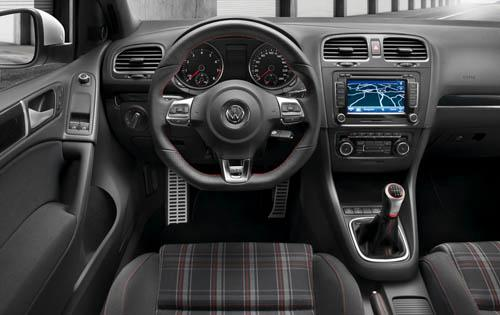 2011 Volkswagen GTI, Interior View, manufacturer, interior