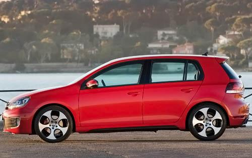 2011 Volkswagen GTI, Left Side View, manufacturer, exterior