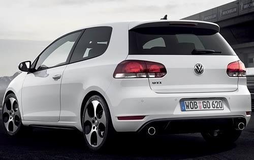 2011 Volkswagen GTI, Back Left Quarter View, exterior, manufacturer
