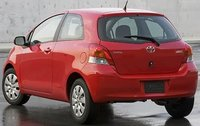 2011 Toyota Yaris, Back Left Quarter View, exterior, manufacturer