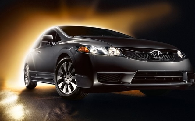 2011 Honda Civic, Front Right Quarter View, exterior, manufacturer