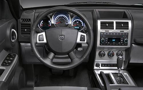 2011 Dodge Nitro, Interior View, interior, manufacturer