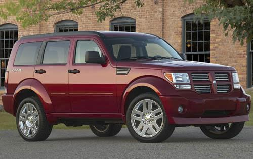 2011 Dodge Nitro, Front Right Quarter View, manufacturer, exterior