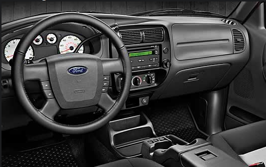 2011 Ford Ranger, Interior View, manufacturer, interior