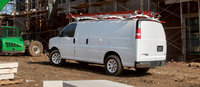 2011 Chevrolet Express, Back Left Quarter View, exterior, manufacturer
