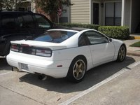 1991 Nissan 300ZX 2 Dr Turbo Hatchback, It has a rather fine backside, exterior