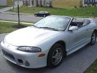 Picture of 1998 Mitsubishi Eclipse Spyder 2 Dr GS-T Turbo Convertible, exterior