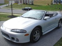 1998 Mitsubishi Eclipse Spyder 2 Dr GS-T Turbo Convertible picture, exterior