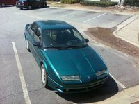1993 Saturn S-Series 4 Dr SL2 Sedan, this is a birds eye view, exterior