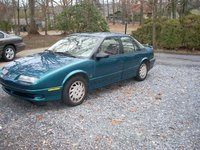 1993 Saturn S-Series 4 Dr SL2 Sedan, Tyler's car, exterior