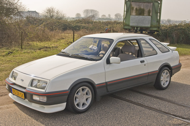 1983 Ford Sierra, Ford Sierra XR4i or otherwise known as a Merkur XR4Ti 2.8 Cologne V6, exterior