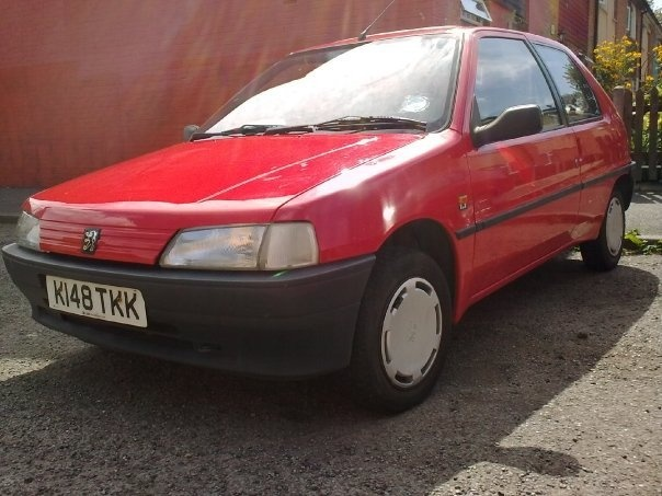 1993 Peugeot 106, 22, exterior, gallery_worthy