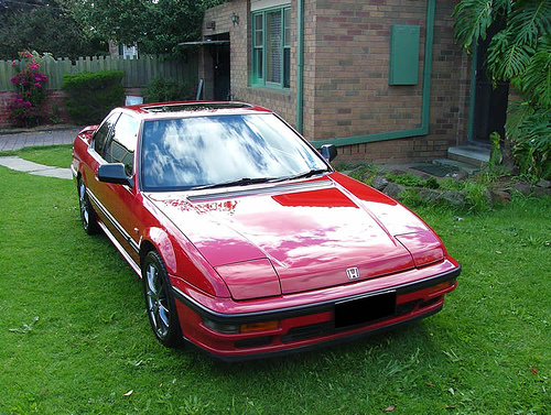 1985 Honda Prelude, Here is the exterior of old red., exterior, gallery_worthy