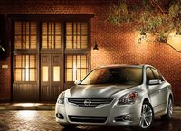 2011 Nissan Altima, front three quarter view , manufacturer, exterior